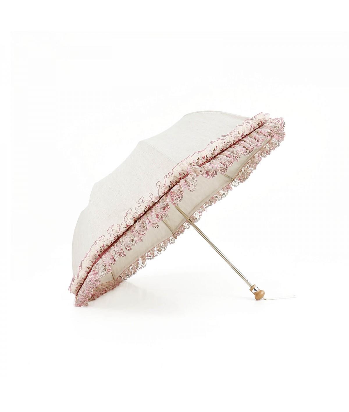 Ombrelle froufrou pliante
