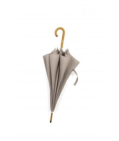 """→ Parapluie-Ombrelle Long - Série Limitée """"Les Unis"""" - Mastic"""