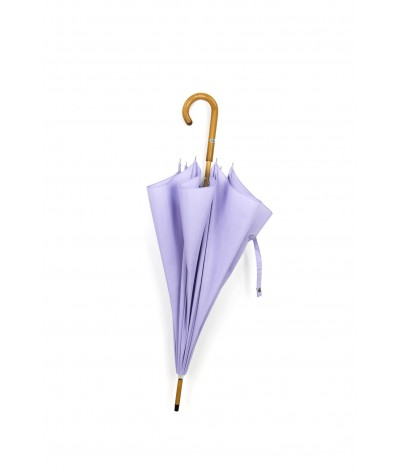 "→ Umbrella-Parasol - ""The Plains"" - Lilac - Long manual - Umbrella Manufacturer Maison Pierre Vaux"