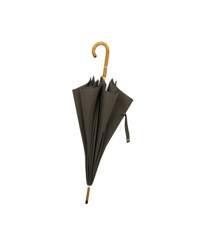 """→ Parapluie-Ombrelle Long - Série Limitée """"Les Unis"""" - Kaki"""