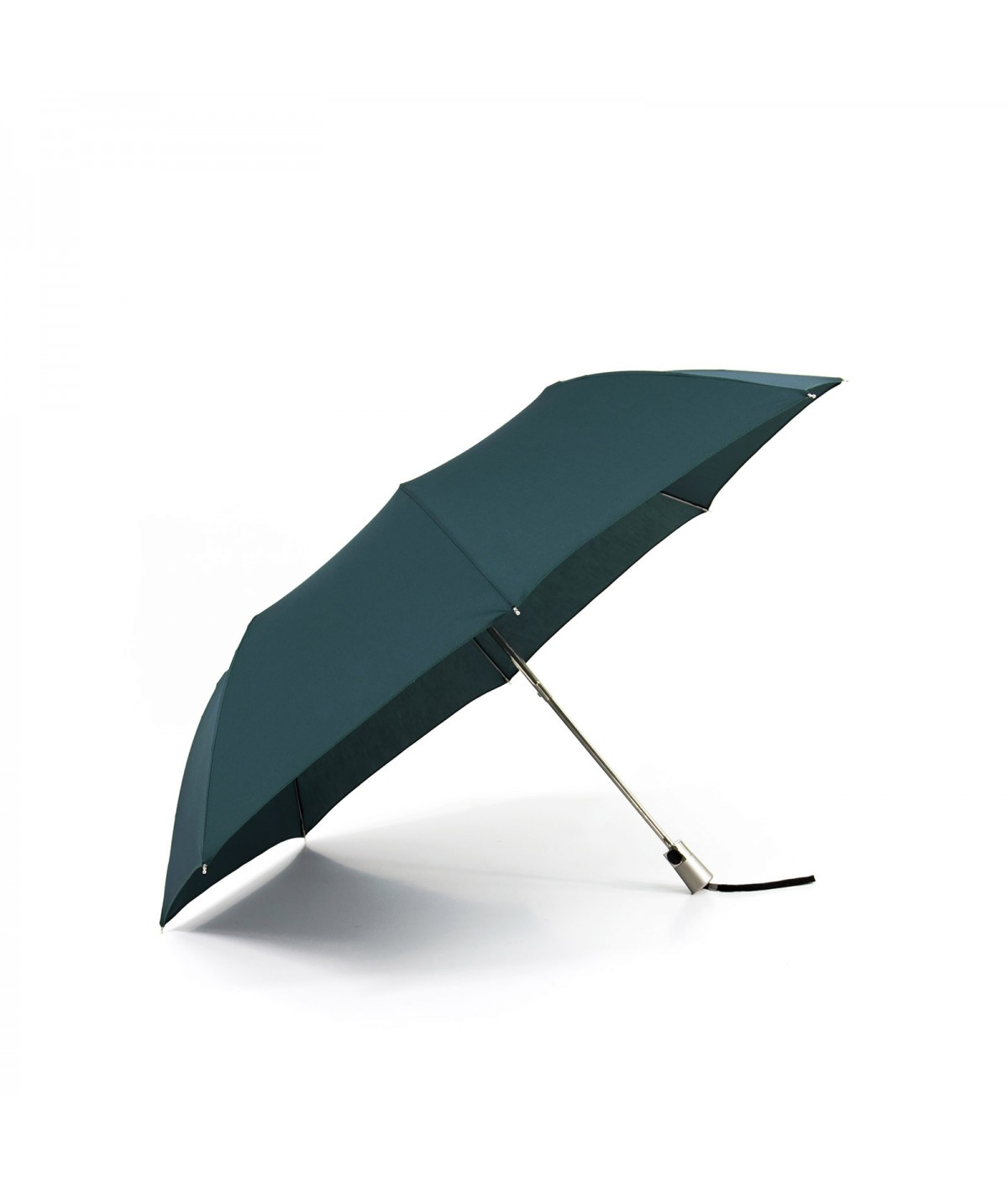 "→ Umbrella-Parasol - Limited Edition ""The United"" - Corsair Green handcrafted in France by Maison Pierre Vaux"