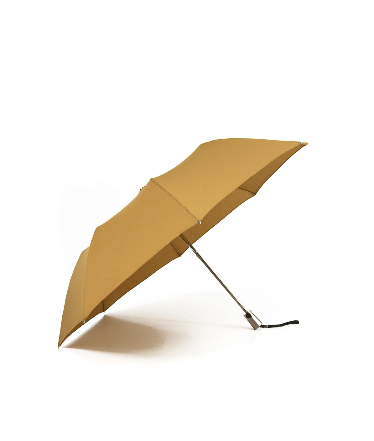 "→ Umbrella-Parasol - Limited Edition ""The United"" - Sunshine Yellow handcrafted in France by Maison Pierre Vaux"