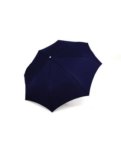 """→ Longchamp - """"Men's Umbrella"""" Navy - Mini Automatic - by the French Umbrellas Manufacturer Maison Pierre Vaux"""