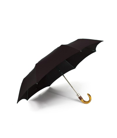 → Longchamp - Parapluie Homme - Chocolat - Confection par Maison Pierre Vaux