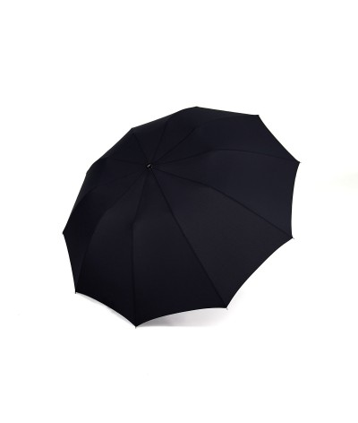 "→  Longchamp - Umbrella ""Top Automatic"" - Black by the French Umbrellas Manufacturer Maison Pierre Vaux"