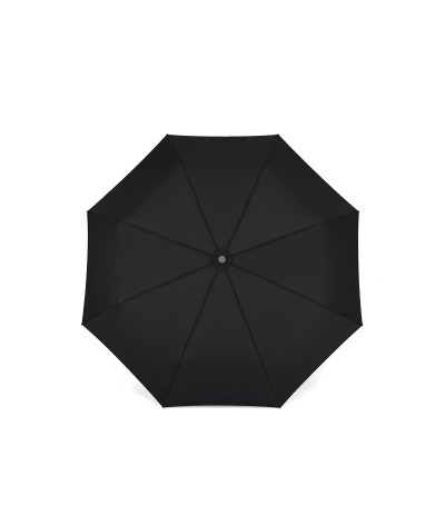 """→ Longchamp Umbrella """"Folding"""" - Black - Automatic opening/closing - Handcrafted in France by Maison Pierre Vaux"""