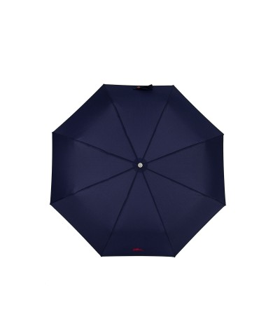 """→ Longchamp Umbrella """"Club Folding"""" - Navy - Automatic Opening/Closing by the French Umbrella Manufacturer Maison Pierre Vaux"""
