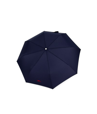 "→ Longchamp Parapluie ""Pliage Club Automatique"" - Navy -  Parapluie Pliant Automatique"