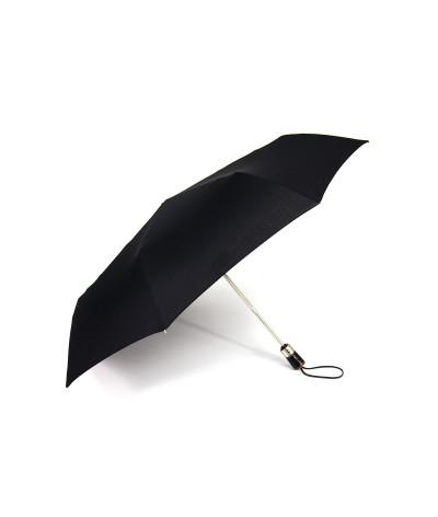 "→ Longchamp Umbrella ""Club Folding"" - Black - Automatic Opening/Closing by the French Umbrella Manufacturer Maison Pierre Vaux"
