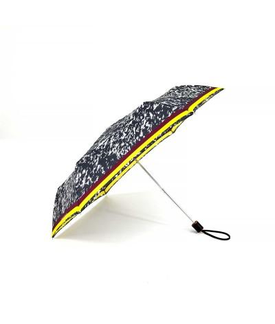 "→ Longchamp Umbrella ""Appaloosa"" Black - Mini manual by the French Umbrellas Manufacturer Maison Pierre Vaux"