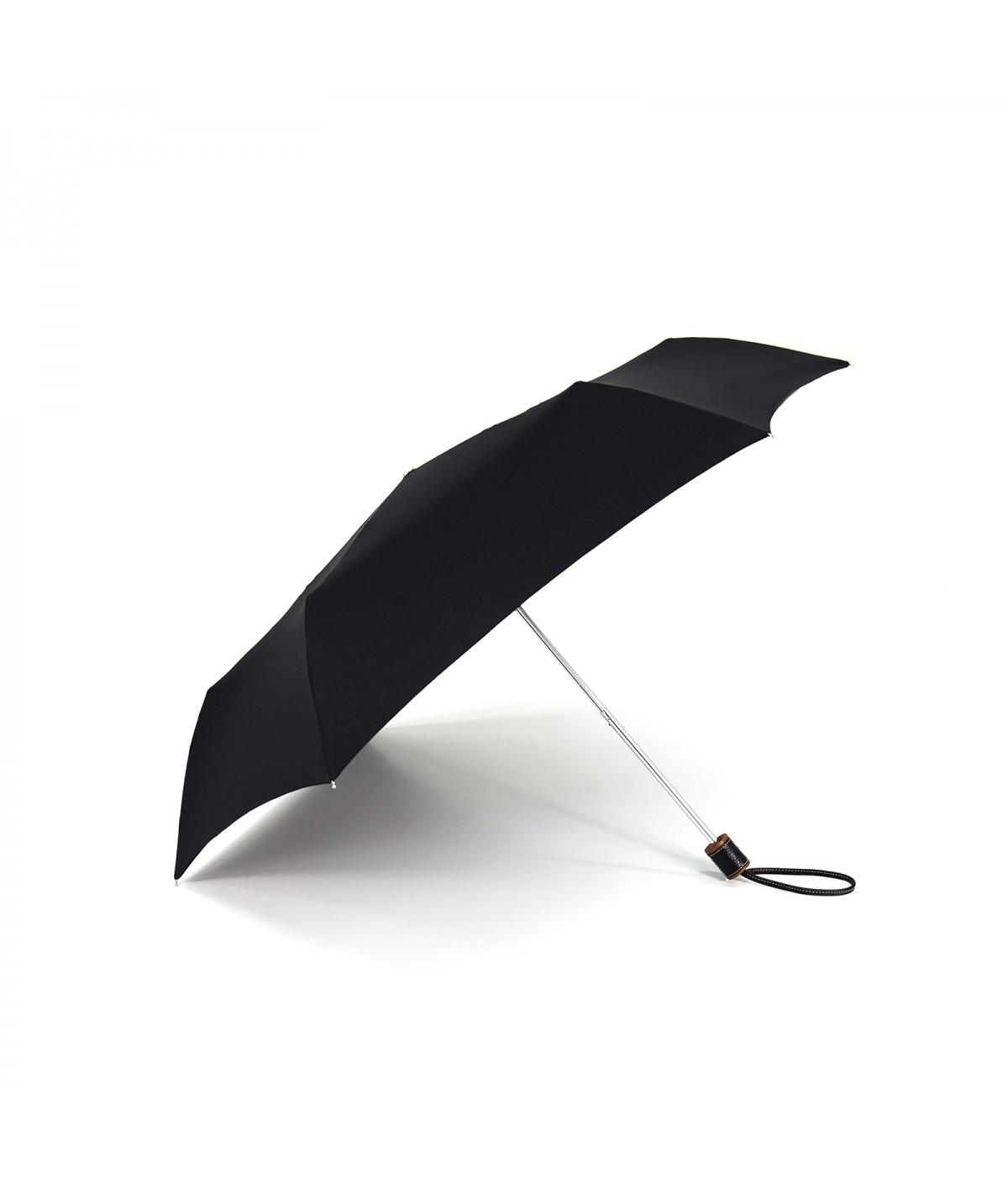 → Longchamp Pliage Club Micro - Noir -  Parapluie Pliable Haut de Gamme
