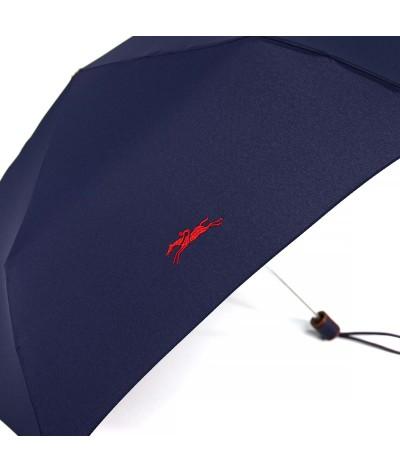 → Longchamp Pliage Club Micro - Navy -  Parapluie Pliable Haut de Gamme