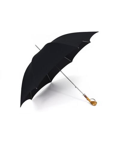 """→ Longchamp """"Golf"""" - Noir -  Parapluie tradionnel Haut de Gamme des Joueurs de  Golf"""