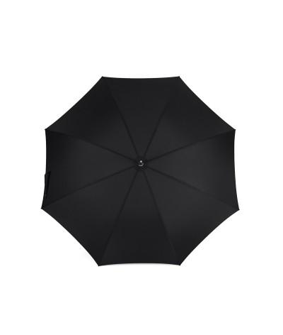 "→  Longchamp Umbrella - ""Golf"" Black - Long manual by the French Umbrellas Manufacturer Maison Pierre Vaux"