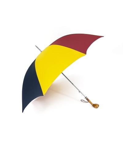 """→ Longchamp """"Golf"""" - Multirouge -  Parapluie tradionnel Haut de Gamme des Joueurs de  Golf"""