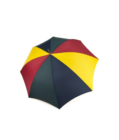 """→  Longchamp Umbrella - """"Golf"""" Multi Red - Long manual by the French Umbrellas Manufacturer Maison Pierre Vaux"""