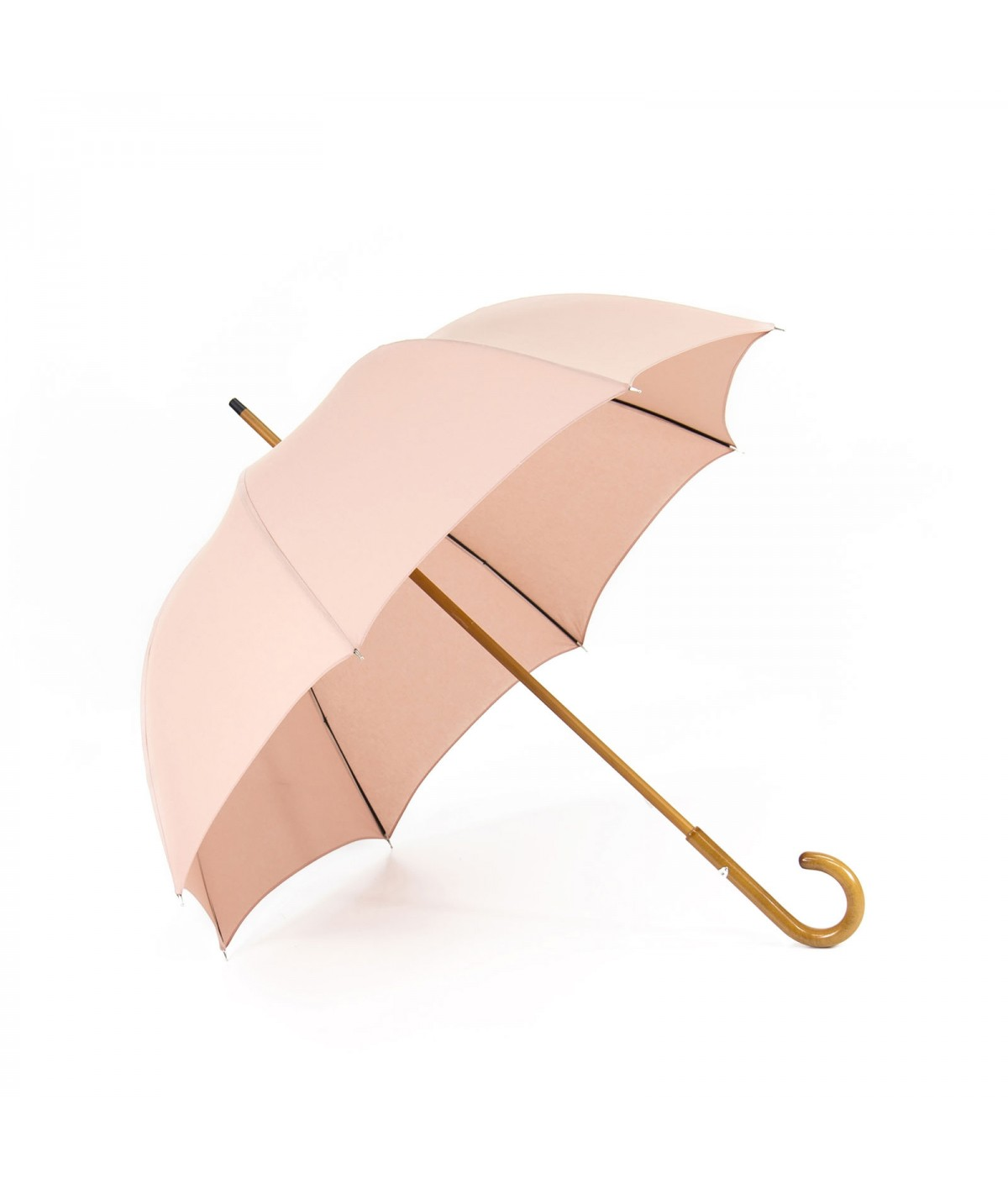 "→ Umbrella-Parasol - ""The Plains"" - Hawthorn Pink - Long manual - Umbrella Manufacturer Maison Pierre Vaux"