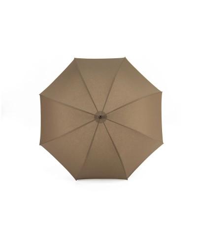 """→ Parapluie-Ombrelle Long - Série Limitée """"Les Unis"""" - Taupe"""