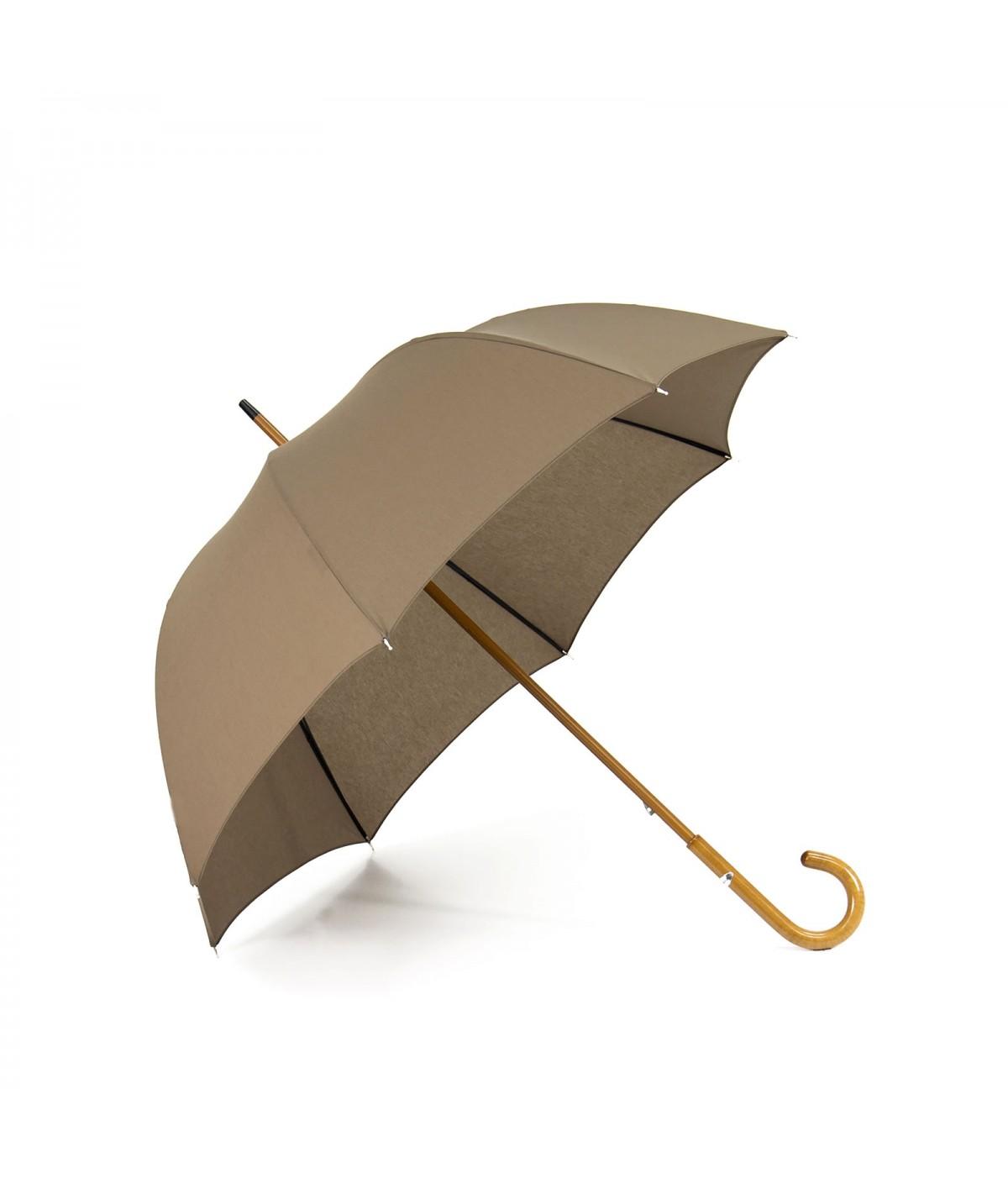 """→ Parapluie-Ombrelle - """"Les Unis"""" - Miel - Long Manuel"""