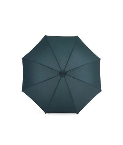 """→ Umbrella-Parasol - """"The Plains"""" - Duck Blue - Long manual - Umbrella Manufacturer Maison Pierre Vaux"""