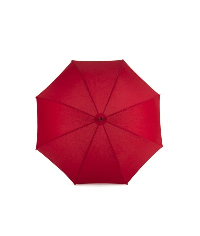 "→ Umbrella-Parasol - ""The Plains"" - Red - Long manual - Umbrella Manufacturer Maison Pierre Vaux"