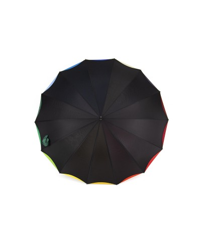 """→ Parapluie """"Arc en Ciel"""" - Couleurs Vives - Parapluie pas Cher"""