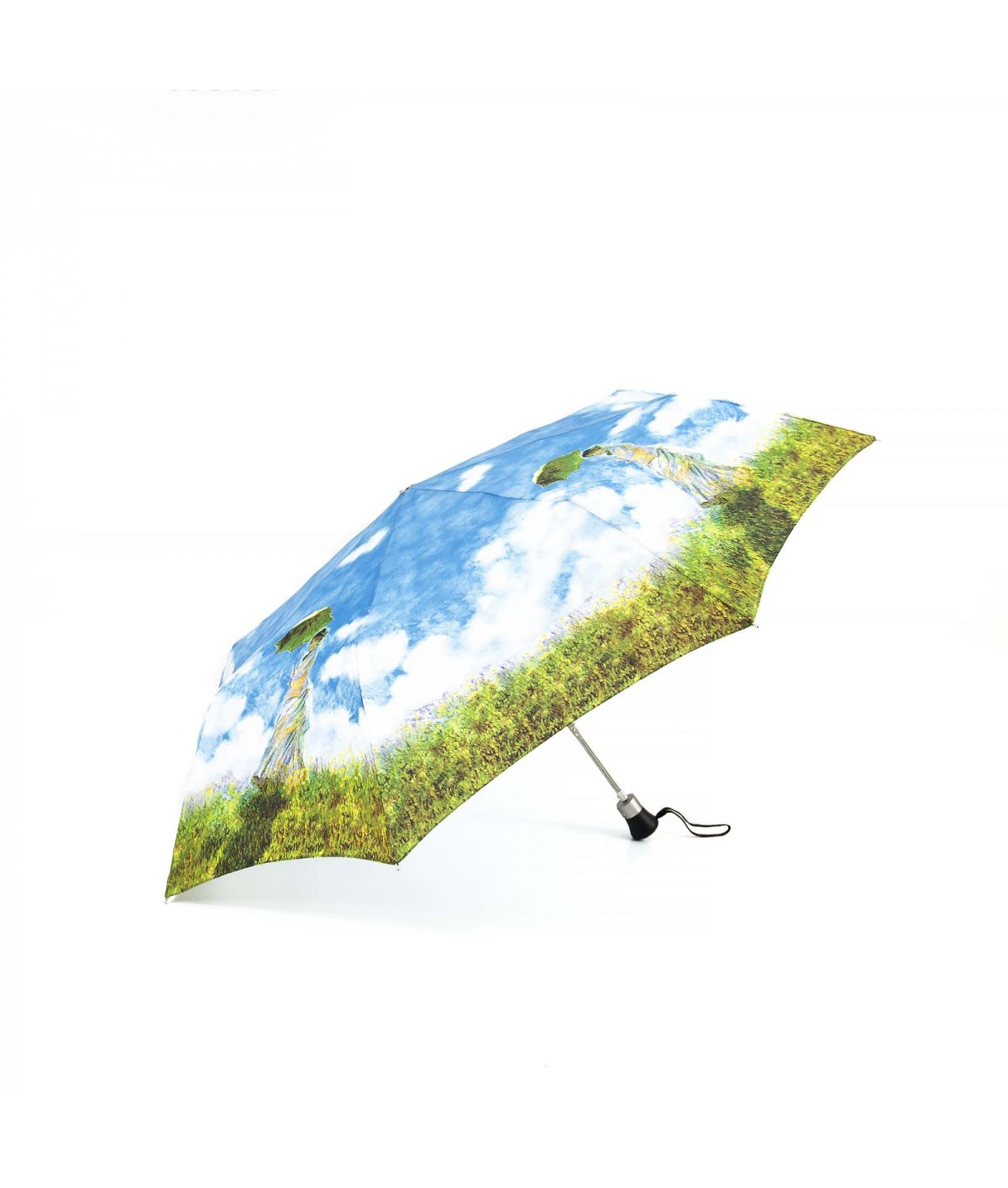 """→ """"Woman with Parasol"""" Umbrella - Mini automatic - Claude Monnet - By the French Umbrella Manufacturer Maison Pierre Vaux"""