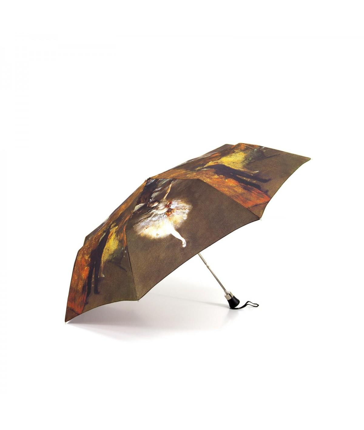 """→ Parapluie Série Limité Les Impressionnistes """" - """"La Danseuse Etoile"""" - Pliant - Albert DEGAS - Parapluie de Luxe"""