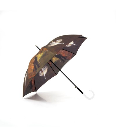 """→ Parapluie Série Limitée """"Les Impressionnistes """" - """"La Danseuse Etoile"""" - Long - Albert DEGAS  - Parapluie  Haut de Gamme"""