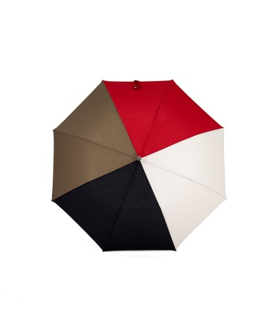 "→ ""The Harmony of Shades"" Umbrella - Col. n°8 - Automatic folding handcrafted by the Umbrellas Manufacturer Maison Pierre Vaux"