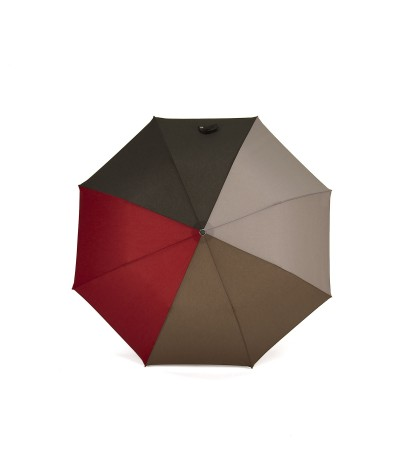 """→ """"The Harmony of Shades"""" Umbrella - Col. n°3 - Automatic folding handcrafted by the Umbrellas Manufacturer Maison Pierre Vaux"""