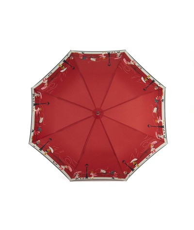"""→ Red """"Storm"""" Umbrella - Long automatic - by the French Umbrella Manufacturer"""