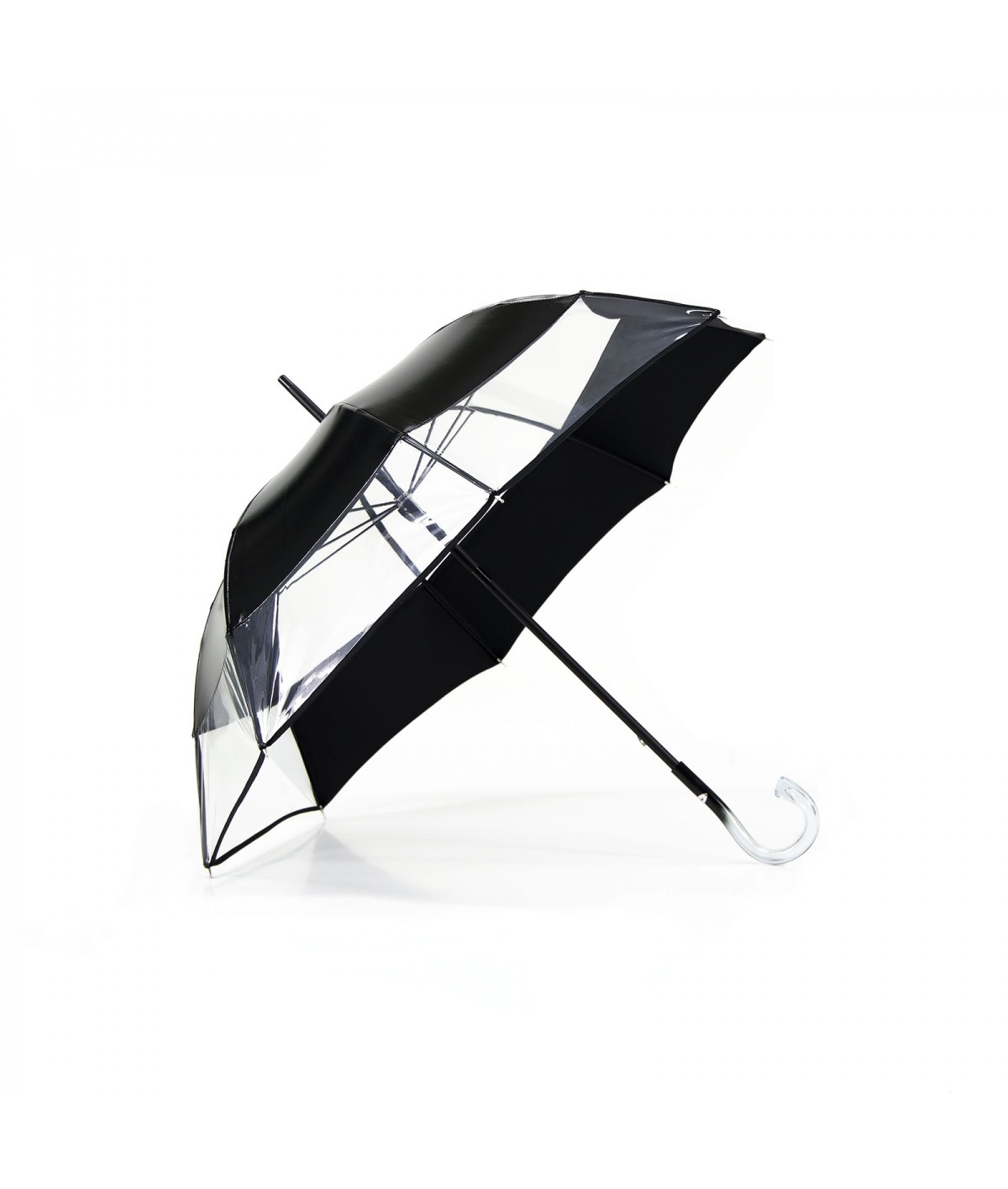 "→ Parapluie ""Le Bi-Gout"" - Noir - Made in France par Maison Pierre Vaux"