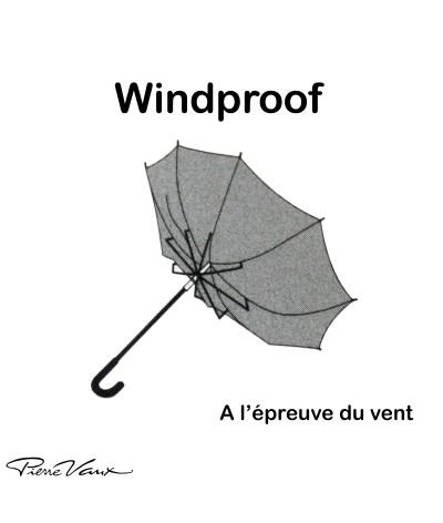 """Parapluie """"Le Mini pour la Famille"""" - Rouge - Parasolerie Maison Pierre Vaux - Fabricant Français de Parapluie"""
