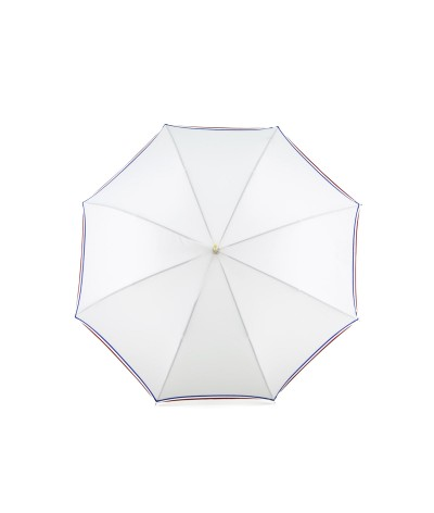 "→ Parapluie Le""Made in France"" Blanc I Fabrication Traditionnelle à la Main"