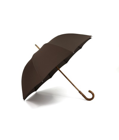 """→ Parapluie """"Le Berger"""" Chocolat - Maison Pierre Vaux"""