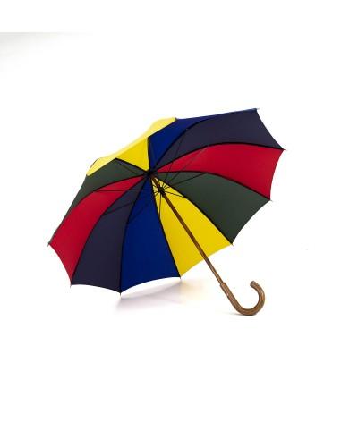 """→ Parapluie """"Le Berger"""" Multicolore - Maison Pierre Vaux francique traditionnellement à la main en France"""
