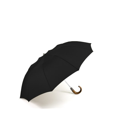 "→ ""The Practice & Chic"" Umbrella - Automatic folding (10 ribs) - Black - by the French Manufacturer Maison Pierre Vaux"