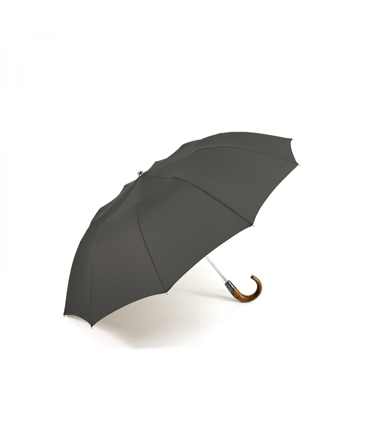 """→  Parapluie """"Le Pratique"""" Pliant Homme 10 baleines - Fusil par Maison Pierre Vaux fabricant Français de Parapluie"""