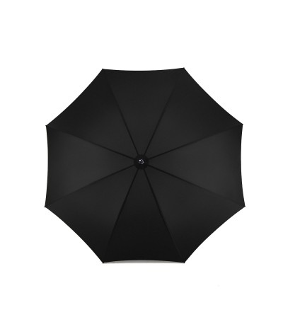 """→ """"The Golf"""" Umbrella - Manual - Black - Made in France by the French Umbrella Manufacturer Maison Pierre Vaux"""