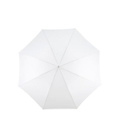 """→ Parapluie """"Le Golf"""" - Blanc - Parapluie Idéal Pour les Evénements Officiels et Privés"""