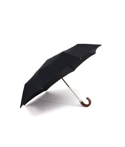 "→  ""Mini automatic"" Umbrella - Black - By the French Umbrella Manufacturer Maison Pierre Vaux"