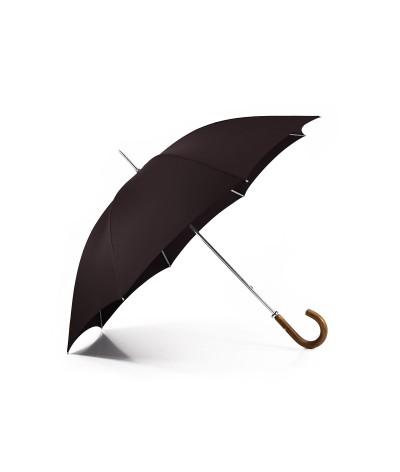 """→ Parapluie """"Le Golf"""" - Chocolat - Fabrication Traditionnelle artisanale"""