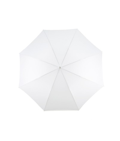 """→ Parapluie """"Le Golf Pliant"""" - Blanc - Fabrication Traditionnelle artisanale  Française depuis 1920 - Maison Pierre Vaux"""