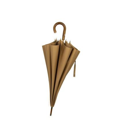 """→ Parapluie """"Le Berger"""" Camel - Maison Pierre Vaux"""