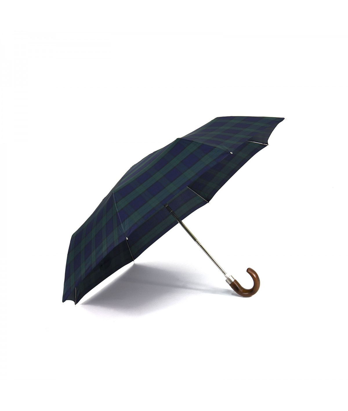 "→ Parapluie ""Le Pliant Automatique"" - Ecossais de Fabrication Traditionnelle"