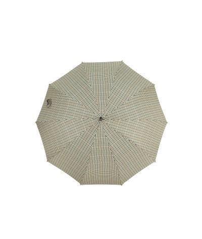 """→ Parapluie Monture Anglaise """"So British"""" - Coll N°10 - Bleu Motif Petits Carreaux clairs"""
