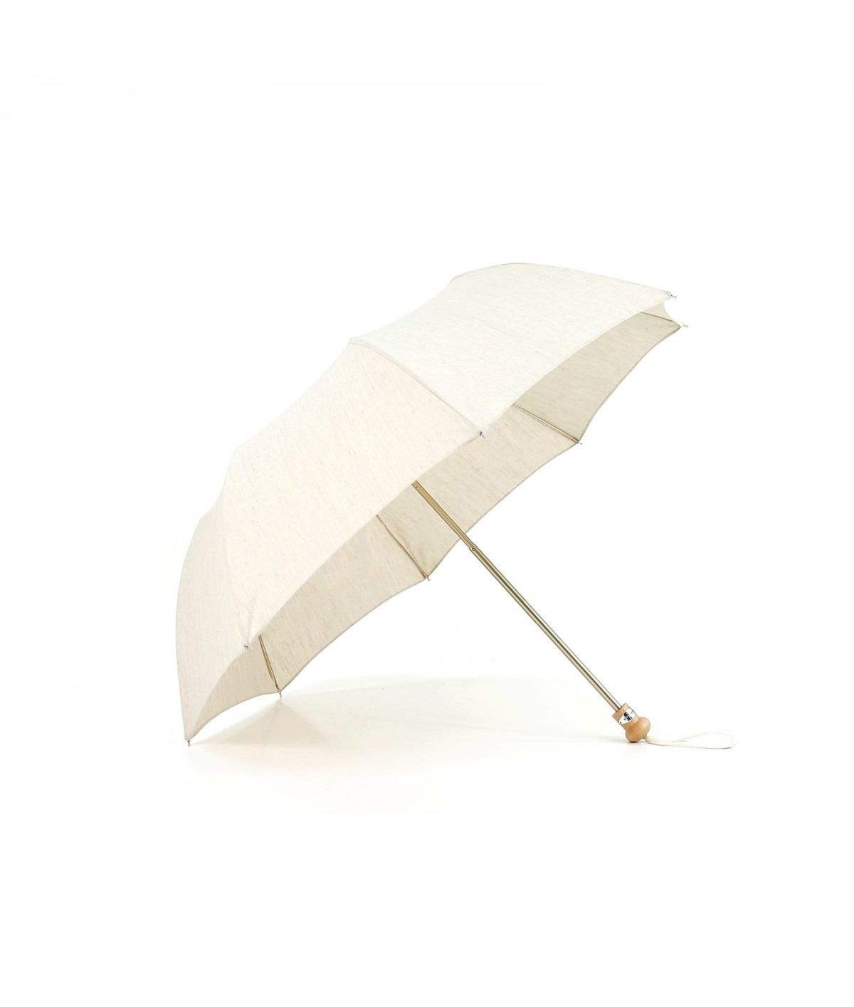 → Parasol - Folding linen Traditionally handcrafted in France by the Umbrellas Manufacturer Maison Pierre Vaux