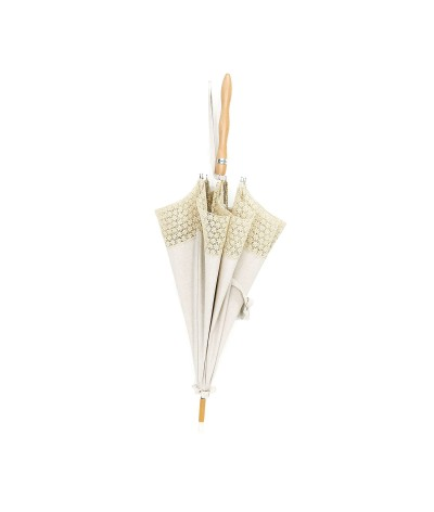 → Ombrelle Fiorellino à Dentelle - Made in France par le leader des fabricants de parapluies français Maison Pierre Vaux