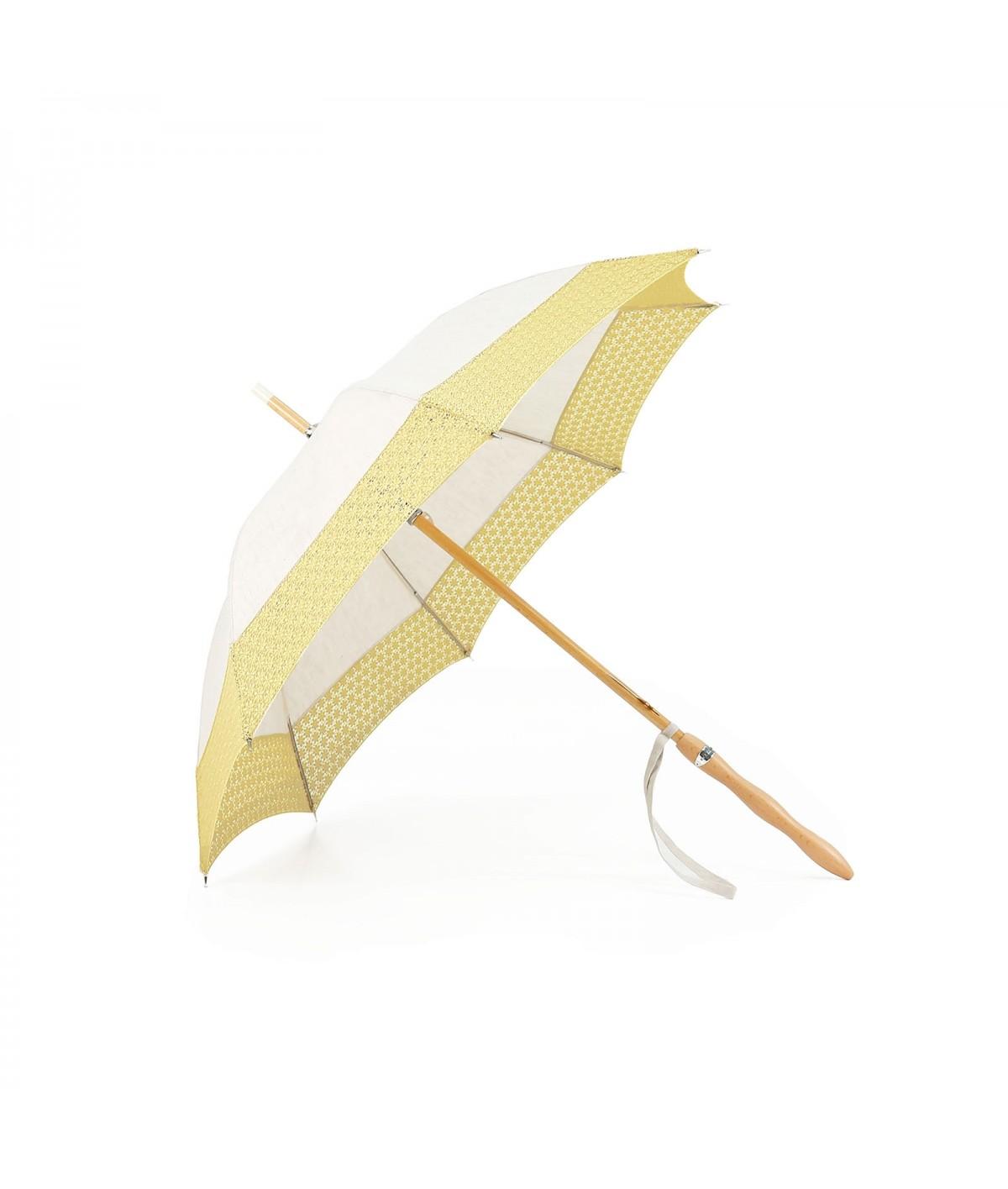 """→ Ombrelle """" Fiorellino"""" à Dentelle Bouton d'Or - Made in France par le leader des fabricants de parapluies français Maison Pier"""